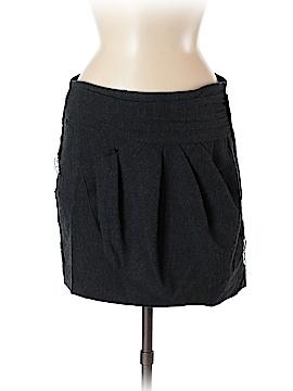 Zara W&B Collection Wool Skirt Size M