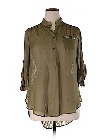 Penelope 3/4 Sleeve Blouse Size 2X (Plus)