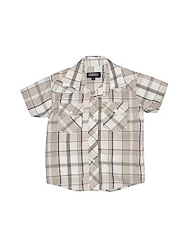 Gioberti Short Sleeve Button-Down Shirt Size 2
