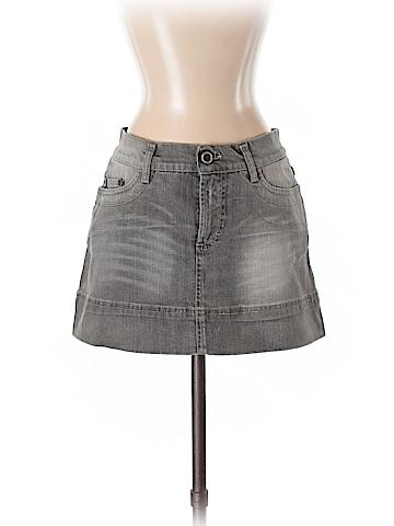 Just Cavalli Denim Skirt Size 42 (IT)