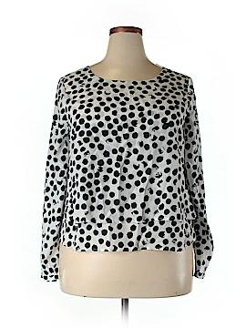 CeCe by Cynthia Steffe Long Sleeve Blouse Size XL