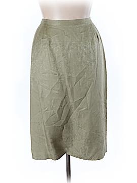 Adrianna Papell Silk Skirt Size 16