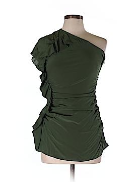 Shoshanna Short Sleeve Silk Top Size 6