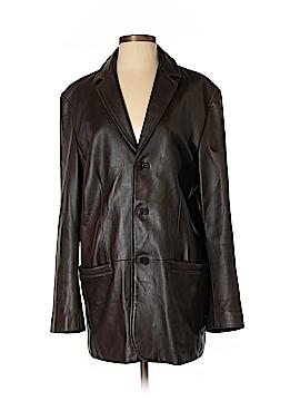 Nicole Miller Leather Jacket Size S