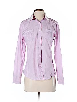 Saint James Long Sleeve Button-Down Shirt Size 4