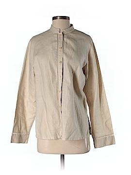 Sigrid Olsen Long Sleeve Button-Down Shirt Size S