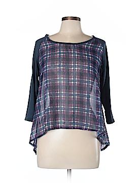 Hype 3/4 Sleeve Blouse Size L