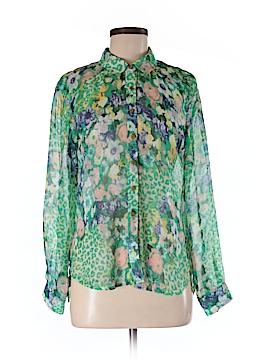 I. Madeline Long Sleeve Blouse Size XS