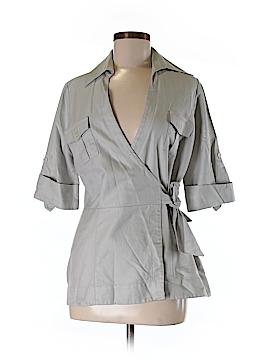 Farinaz Taghavi Short Sleeve Blouse Size 8