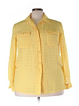 Liz Baker Long Sleeve Blouse Size 20W (Plus)
