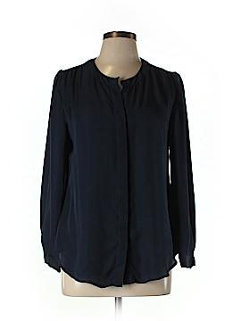 Cynthia Rowley 3/4 Sleeve Silk Top Size M