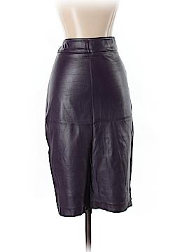 Avenue Montaigne Faux Leather Skirt Size 2