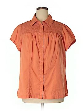 SONOMA life + style Short Sleeve Button-Down Shirt Size 2X (Plus)
