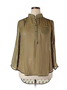 Penelope 3/4 Sleeve Blouse Size 3X (Plus)