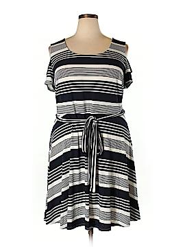 Bailey Blue Casual Dress Size 2X (Plus)