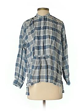 Nili Lotan 3/4 Sleeve Button-Down Shirt Size XS