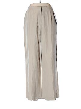 Laura Scott Silk Pants Size 12