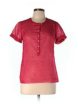 J. Crew Short Sleeve Blouse Size 2 (Plus)