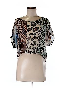 Yahada Short Sleeve Blouse Size S