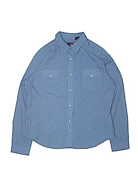 Roper Long Sleeve Button-Down Shirt Size X-Large (Kids)