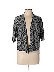 Fever Women Cardigan Size L (Petite)