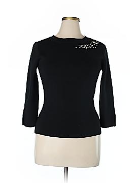 Classiques Entier Silk Pullover Sweater Size 14