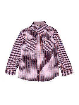 American Hawk Long Sleeve Button-Down Shirt Size 12