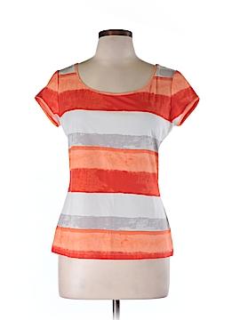Lafayette 148 New York Short Sleeve T-Shirt Size L