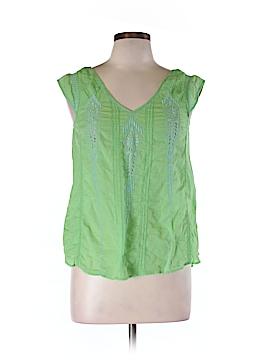 Meadow Rue Short Sleeve Blouse Size 10