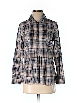 Weatherproof Long Sleeve Button-Down Shirt Size S