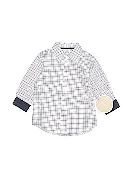 Egg by Susan Lazar Long Sleeve Button-Down Shirt Size 18 mo