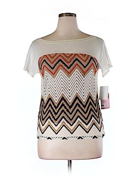 Julienne W. Short Sleeve Top Size L