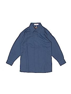 Neiman Marcus Long Sleeve Button-Down Shirt Size 7