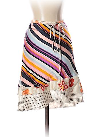 Poleci Silk Skirt Size 4