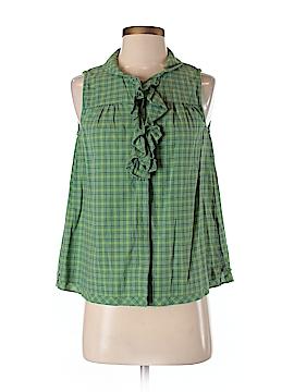 Lilis Closet Sleeveless Button-Down Shirt Size S