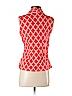 Sunny Leigh Women Sleeveless Blouse Size S (Petite)
