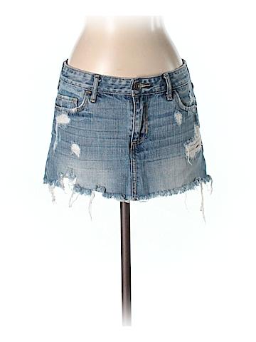 Abercrombie & Fitch Denim Skirt 25 Waist