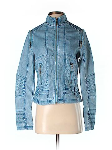 Celsius Premium Faux Leather Jacket Size M