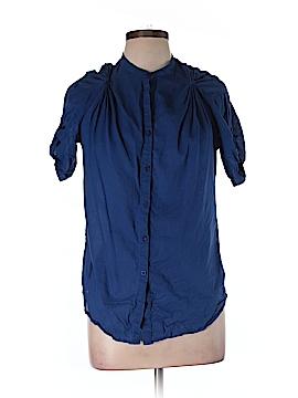 Fei Short Sleeve Button-Down Shirt Size S