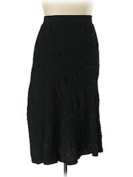 PureDKNY Silk Skirt Size L