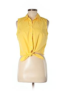 Evan Picone Sleeveless Button-Down Shirt Size 4