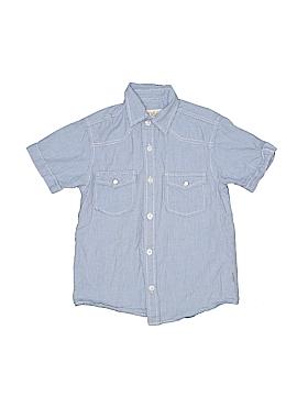 Pd&c Short Sleeve Button-Down Shirt Size S (Kids)