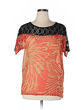 Be Lush Short Sleeve Blouse Size 1X (Plus)