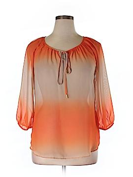 Kay Celine 3/4 Sleeve Blouse Size L