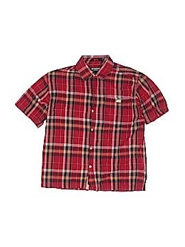 Ecko Unltd Short Sleeve Button-Down Shirt Size S (Kids)