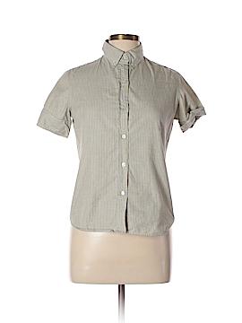 Steven Alan Short Sleeve Button-Down Shirt Size M