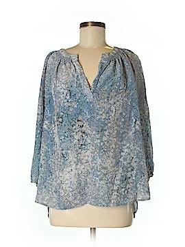 Cynthia Rowley for T.J. Maxx 3/4 Sleeve Silk Top Size L