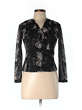 AK Anne Klein Long Sleeve Blouse Size S (Petite)
