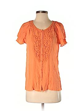 Melissa Paige Short Sleeve Blouse Size S