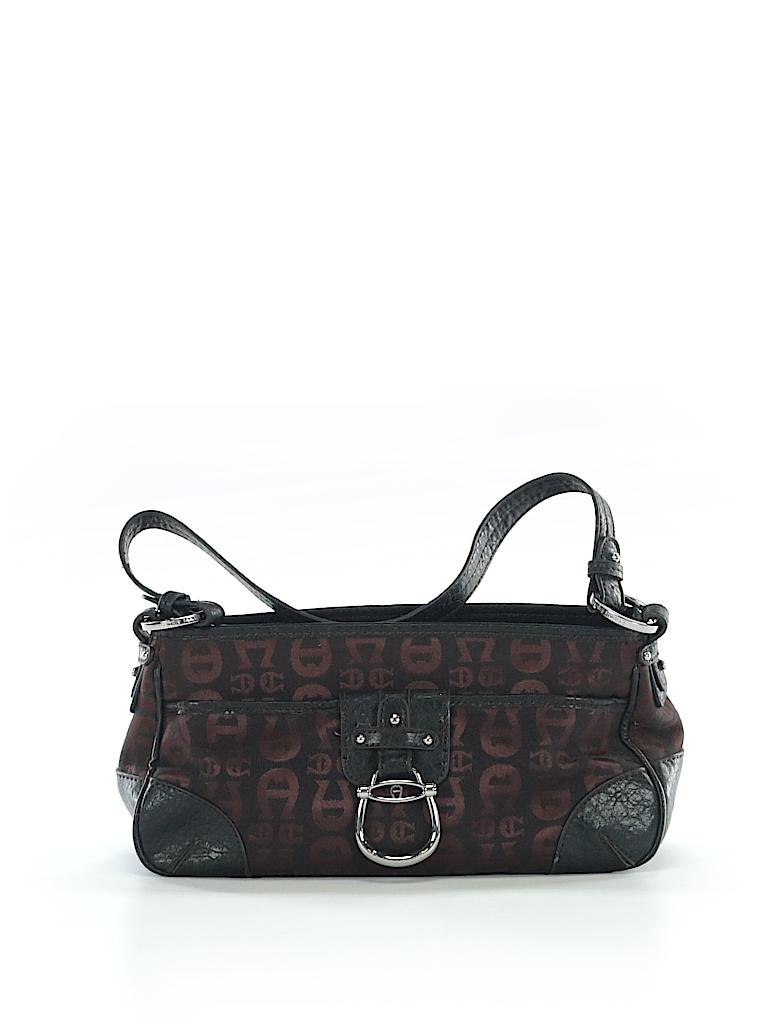 5754b1926968 Etienne Aigner Print Black Shoulder Bag One Size - 95% off